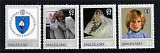 Swaziland 1982 21st Birthday of Diana SG404/7 MNH