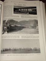 1899 BOER WAR JOBURG PARK STATION TRAIN STANDERTON CAMP