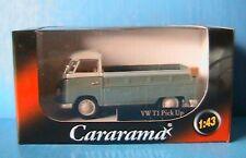 VW T1 BULLI PICK UP CARARAMA 1/43 LIGHT GREEN VERT 1:43