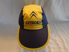Vintage Citroen Cap Hat Cycling Painter style Longer Brim 70s