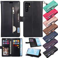 For Huawei P30 Pro/P30 Lite Case Wallet Card Flip Leather Stand Phone TPU Cover