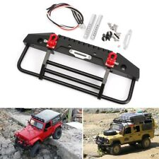 Front Bumper with Light for 1/10 RC Crawler SCX10 Axial 90046 Traxxas TRX-4 TRX4