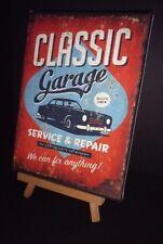 Signo de Garaje-Impresión de lona cartel vintage