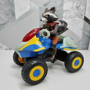 RARE Marvel Guardians Of The Galaxy Rumble To The Rescue Rocket Racoon Toy