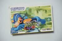Game Boy Advance Rockman EXE 2 boxed Japan GBA Game US Seller