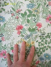 Fabric Remnant.!00% Cotton.Moygashel.Grassmere. Screen Print.46 ins x 22 ins