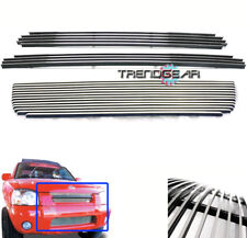 UPPER + BUMPER LOWER BILLET GRILLE GRILL COMBO FOR 2001 2002 2003 2004 FRONTIER
