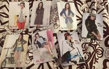 Song Ji Hyo Yes Card Set 7pcs  official photocard card Kpop K-pop U.S Seller