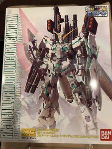 GUNPLA EXPO MG 1/100 RX-0 Full Armor Unicorn Gundam Mechanical Clear Version