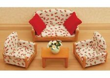Sylvanian Families =3-Piece Suite Set= seater couch NEW
