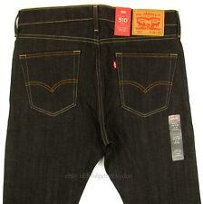 Levis 510 Jeans Skinny Fit Mens New Size 33 x 32 DARK BLUE STRETCH Levi's NWT