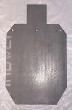 "AR500 Full Scale IDPA IPSC Steel Shooting Target Gong 1/2"" 18"" X 30"""