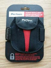 Perfect Fitness Adjustable Arm Wallet - Black, One size