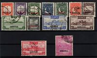 P130355/ PAKISTAN - OFFICIAL / SG # O14 / O26 USED FULL SET CV 180 $