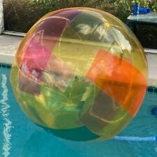 2005 Florida Pools Sun Splash 48in Volleyball Beach Ball Inflatable Toy Blow Up
