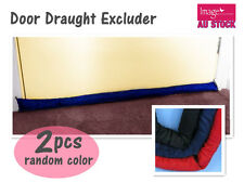 2x Weather Seal Draught Stopper Draught Excluder Door Snake Wind Draft Block
