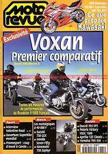 MOTO REVUE 3321 SUZUKI GSX 750 VOXAN YAMAHA TRX 850 HONDA ST 1100 BMW R1100 R
