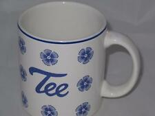 Waechtersbach Tee Tea Mug Blue Flowers W. Germany