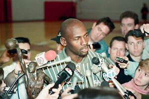 LD129-14 NBA 1995 Chicago Bulls Media Michael Jordan (36pc) ORIG 35mm NEGATIVES