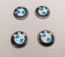 4 Logo Stickers Clé Clefs BMW 11 mm Emblème Autocollant Voiture
