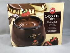 'Wilton' Chocolate Pro Melting Pot New Fondue Strawberry Melter Dipper Dip