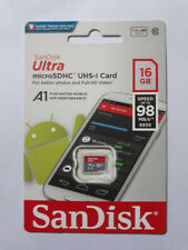 SanDisk Ultra 16GB micro SDHC UHS-I Class 10 Flash Memory Card with Adapter #1