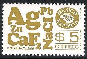 pe126a Mexico Exporta MNH paper 7 Sc#1120a Mc#1785Dbx Et#ex126a olive-brn