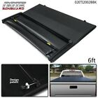 FIT FOR 2016-2021 TACOMA LOCK TRI -FOLD TONNEAU COVER 6FT SHORT BED BLACK