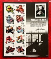 US #3944 2005 37c Jim Henson and the Muppets Pane of 11 MNH/O.G