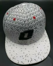 One Industries white / black patterned fitted cap / hat - size 7 5/8 (XL)