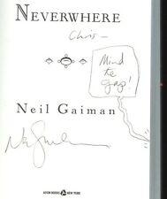 Gaiman, Neil: Neverwhere ** Signed ** HB/DJ 1st/1st
