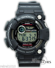 Casio G-SHOCK FROGMAN GF1000-1 Tough Solar Black Digital Men's Tide Watch