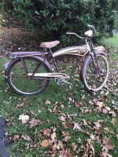 1948 monark boys super deluxe bicycle original Whizzer