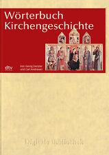 Diccionario kirchengeschichte Anticristo hasta zölibat Cd Digital Biblioteca N°