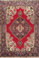 Traditional SEMI ANTIQUE Kashmar Area Rug Wool Hand-Knotted Oriental Carpet 6x10