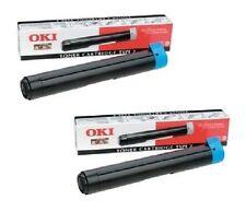 2 x Original Toner OKI OL 400e 400ex 410ex 600ex 810 / 09002395 Type 2 Cartridge