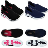 Womens Skechers Casual GOWalk Comfort Trainers Soft Shoes Slip On Sneakers