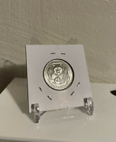 Clear COIN DISPLAY STAND - BCW 2 Piece Adjustable (ONLY 1) - Baseball Card - New