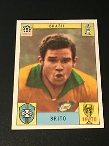 Unused Panini World Cup Mexico 70 (1970) Card - Brito (Brazil)