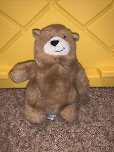 "CHARMIN  plush BROWN BEAR RUSS BERRIE Soft Advertising Lovey Stuffed Animal 8"""
