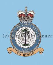 ROYAL AIR FORCE GAN COASTER