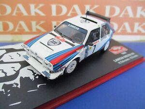 Die cast 1/43 Modellino Auto Lancia Delta S4 Rally Monte Carlo 1986 H. Toivonen
