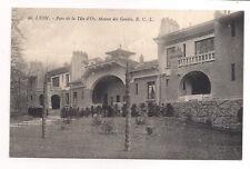 lyon ,  parc de la tête d'or  , maison des gardes