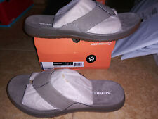 NEW $54 Mens Merrell Vernon Post Flip Flop Sandals, size 13         shoes