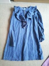 === GIRLS DENIM VERY DRESS AGE 12 ===