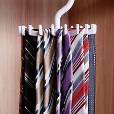 Adjustable Rotating 20 Hook Neck Ties Men Tie Rack Hanger Holder HOTg
