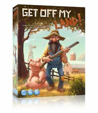 Get Off My Land! - Kickstarter board game