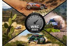 World Rallye Kalendar 2021 WRC Rally Calendar 2021 44 x 36 cm 24 Bilder NEU