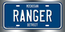 Ford Ranger License Plate Vanity Auto Tag
