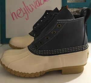 "NEW! L.L. Bean Small Batch 6"" Duck Boots Women's  Sz 6"